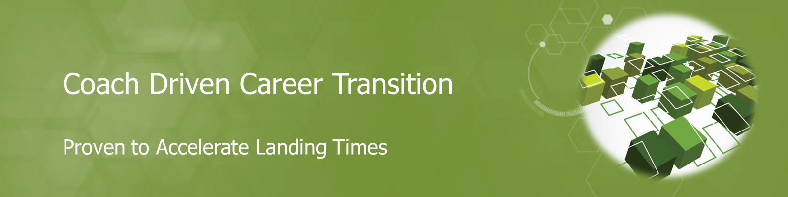 Coach Driven Career Transition- Proven to Accelerate Landing Times