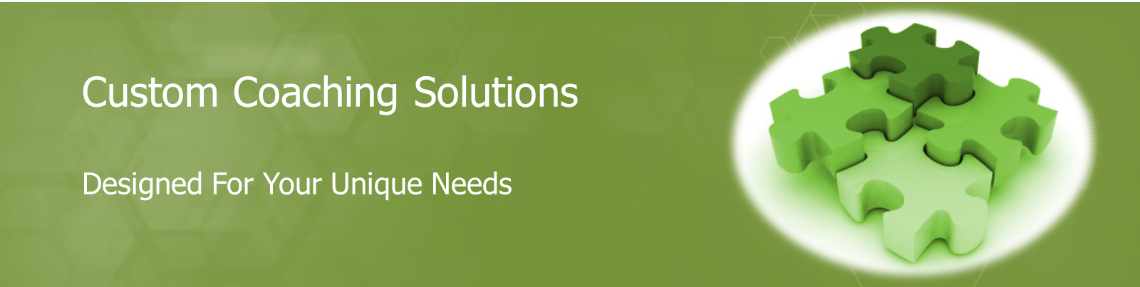 Cutsom Coaching Solutions designed for your unique needs.