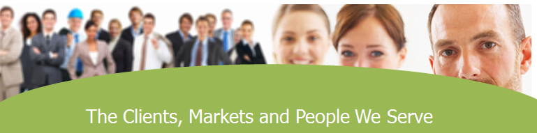 The clients and markets we serve