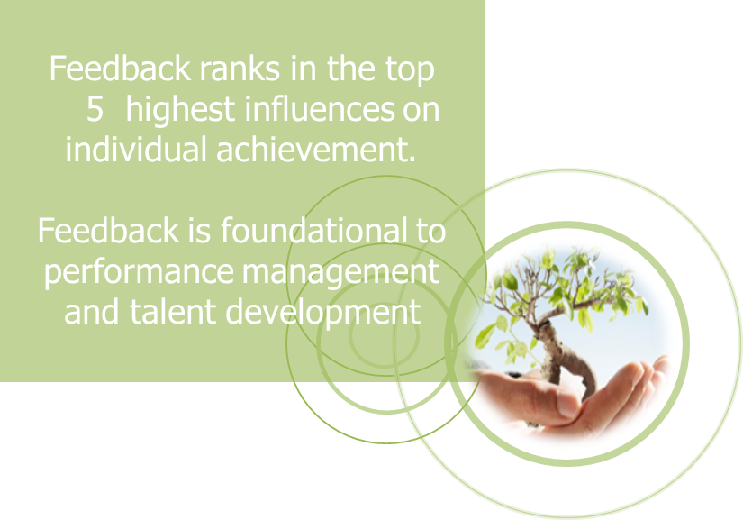 Feedback is foundational to performance management.